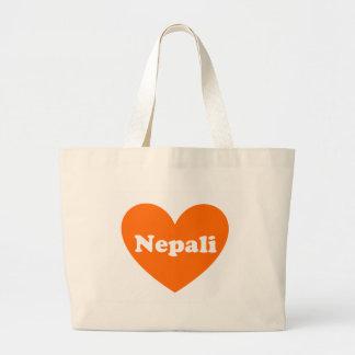 Nepali Bolsa Tela Grande