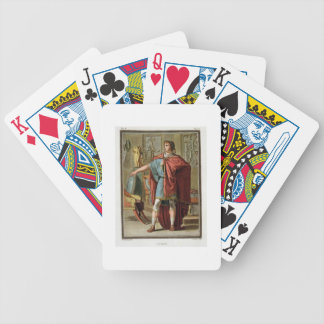 """Nero, traje para """"Britannicus"""" por Jean Racine, fr Baraja Cartas De Poker"""
