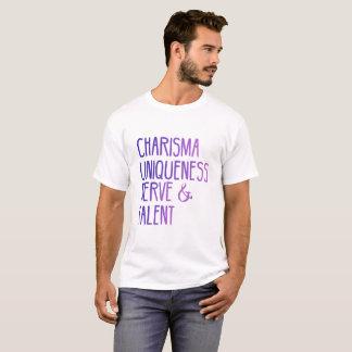 Nervio de la unicidad del carisma y camiseta del
