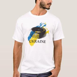 Neumático - símbolo de la revolución ucraniana de camiseta