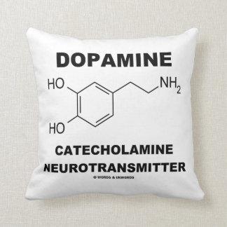 Neurotransmisor de la catecolamina de la dopamina cojin