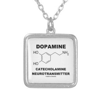 Neurotransmisor de la catecolamina de la dopamina colgante cuadrado