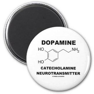 Neurotransmisor de la catecolamina de la dopamina imán redondo 5 cm
