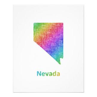 Nevada Folleto 11,4 X 14,2 Cm