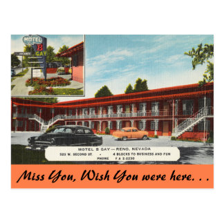 Nevada, gay del motel B, Reno Postal