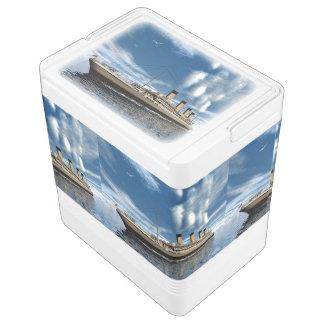 Nevera Para Bebidas Nave titánica - 3D rinden