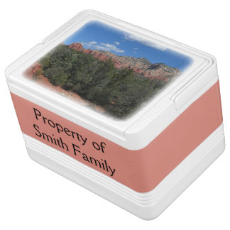 Nevera Para Bebidas Panorama de rocas rojas en Sedona Arizona