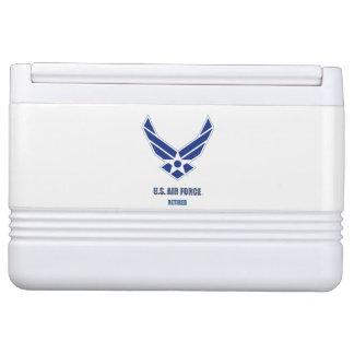 Nevera Para Bebidas U.S. Neverita de bebidas jubilado fuerza aérea del