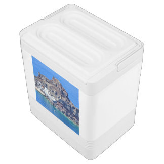 Nevera Para Bebidas Vista panorámica de Santorini