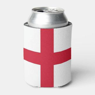 Neverita de bebidas con la bandera de Inglaterra,