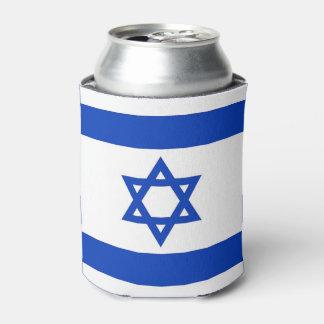 Neverita de bebidas con la bandera de Israel