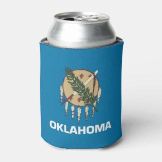 Neverita de bebidas con la bandera de Oklahoma,