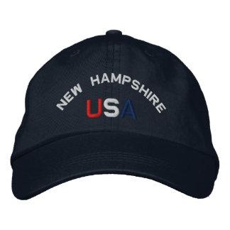 New Hampshire los E.E.U.U. bordó el gorra de los a Gorra De Béisbol