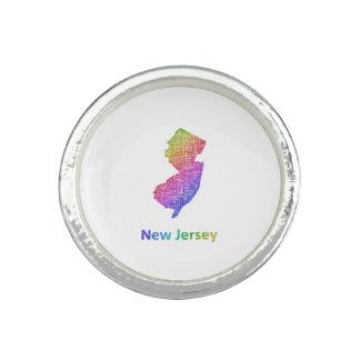 New Jersey Anillo Con Foto