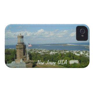 New Jersey los E E U U iPhone 4 Case-Mate Cárcasas