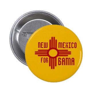 NEW MÉXICO PARA el botón de OBAMA