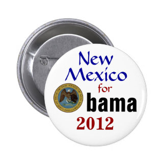 New México para Obama 2012 Pins