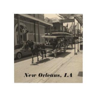 New Orleans, arte de madera del LA