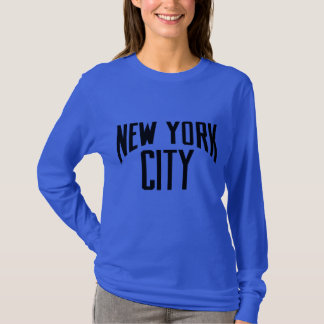 New York City CAMISA DE MANGA LARGA UNISEX de