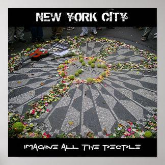 NEW YORK CITY, se imagina A TODA LA GENTE Impresiones