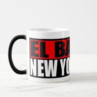 """New York City """"taza de café del barrio hispano del Taza Mágica"""