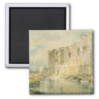 Newark-sobre-Trent c 1796 w c sobre el grafito e Imán De Frigorífico