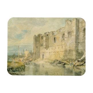 Newark-sobre-Trent, c.1796 (w/c sobre el grafito e Imán