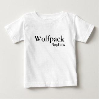 newphew del wolfpack camiseta de bebé