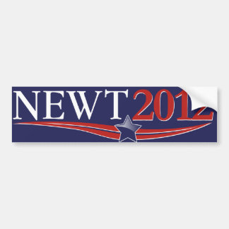 Newt Gingrich 2012 Pegatina Para Coche