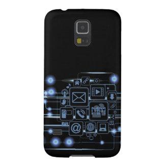 Nexo de alta tecnología de la galaxia de Samsung d