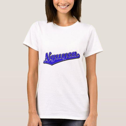 Nguyen en azul camiseta