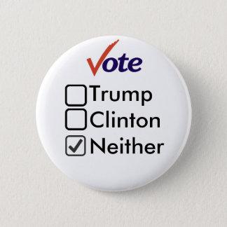 Ni unos ni otros botón de 2016 campañas