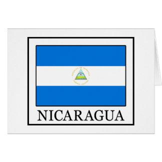 Nicaragua Tarjeta De Felicitación