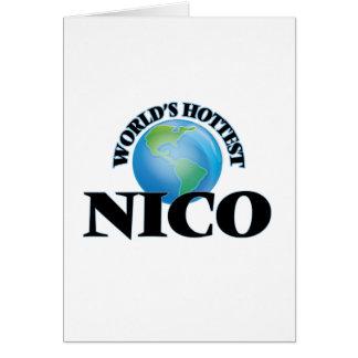 Nico más caliente del mundo felicitación