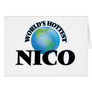 Nico más caliente del mundo felicitacion