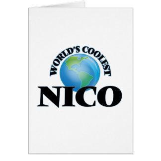 Nico más fresco del mundo tarjetón