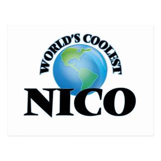 Nico más fresco del mundo tarjeta postal