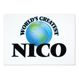 Nico más grande del mundo invitacion personal