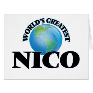 Nico más grande del mundo felicitaciones