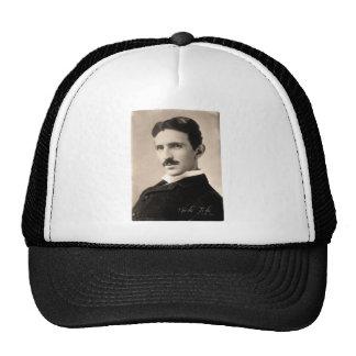 Nicola Tesla Photo Gorros Bordados