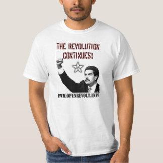 Nicolás Maduro: ¡La revolución continúa! Camiseta