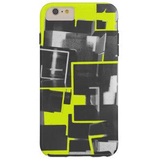 Nidal en amarillo del subordinado funda de iPhone 6 plus tough