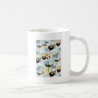 Nidos y pajaritos taza de café