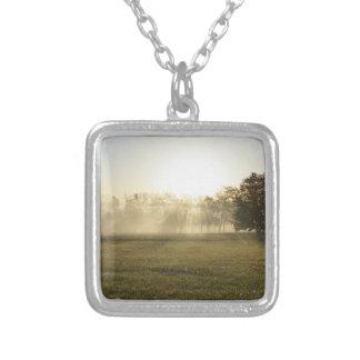 Niebla de la mañana de Ozarks Collar Plateado