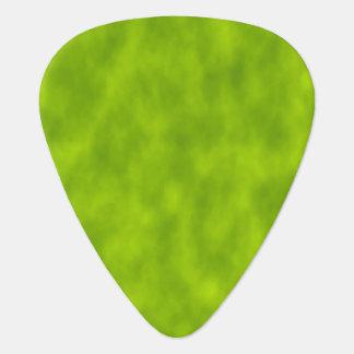 Niebla/neblina verdes/Niebla-Como púa de guitarra