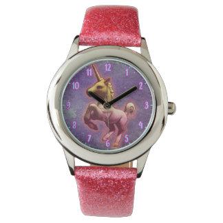 Niebla púrpura del reloj el | del unicornio