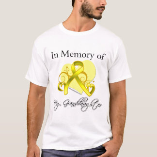 Nieta - en memoria del tributo militar camiseta