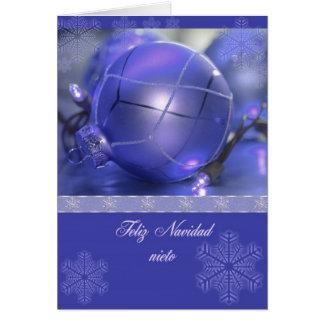 Nieto de Feliz Navidad