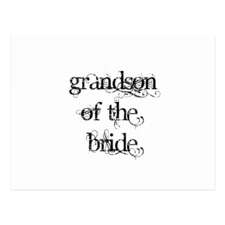Nieto de la novia postal