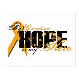 Nieto mi héroe - esperanza de la leucemia postal